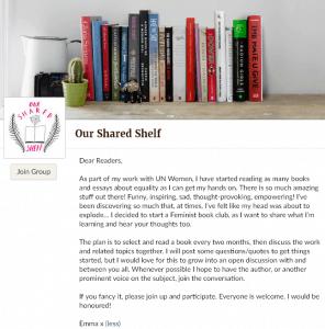 our shared shelf book club