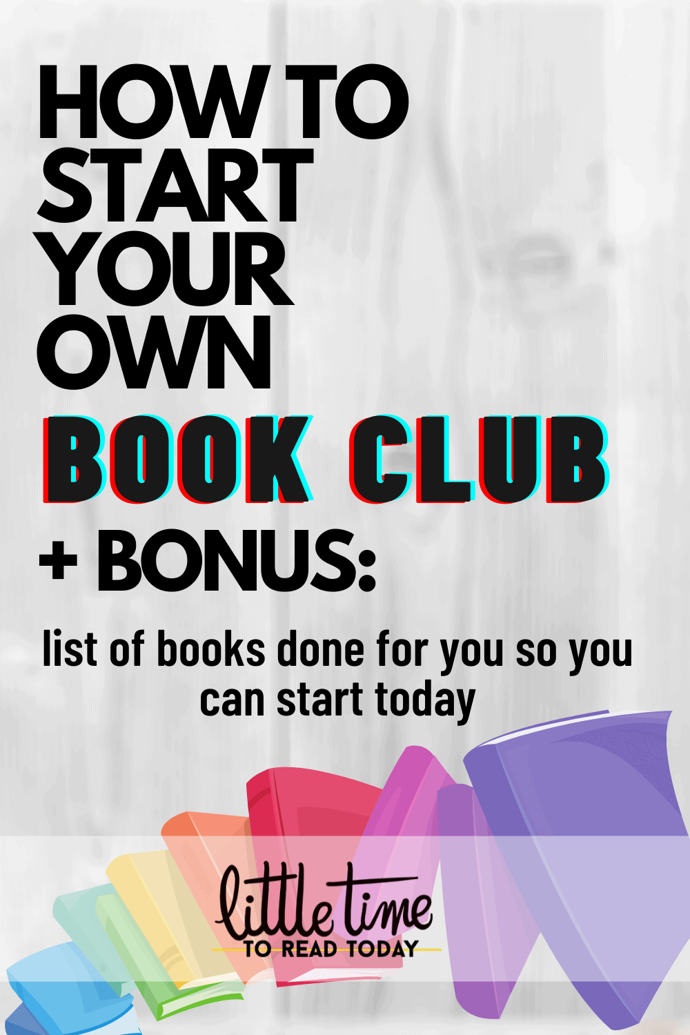 Start your online book club today