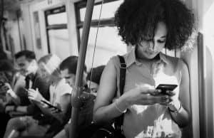 texting anywhere